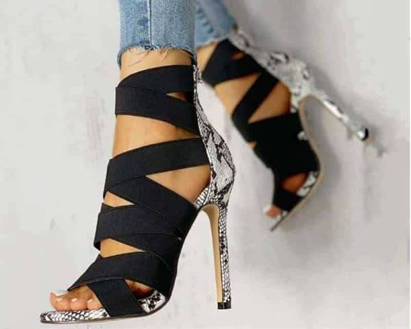 Chaussures d'été femme – Serpent