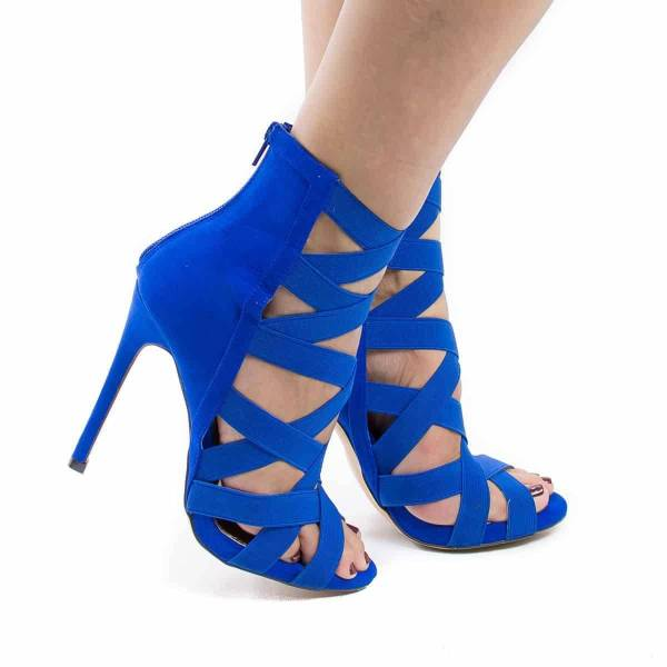 Chaussure à talons glamour 27