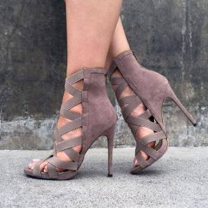 Chaussure à talons glamour