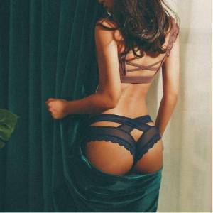 sexy string lingerie