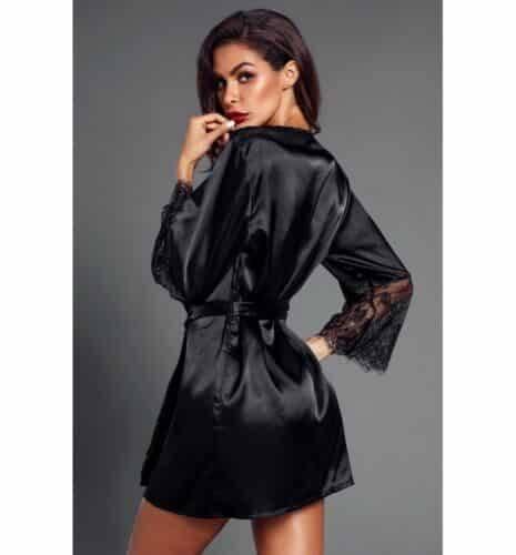 Nuisette Kimono Robe de nuit Sexy en dentelle
