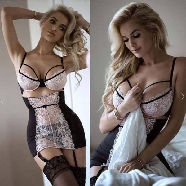 Ensemble Robe en dentelle Sexy pour femmes