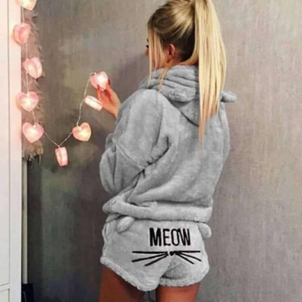 Pyjamas hiver femme Ensemble Hiver Vêtements De Nuit