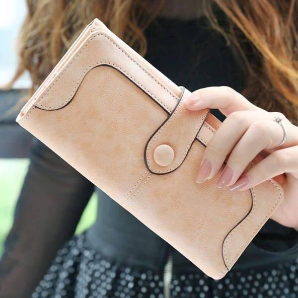 Women's Large Capacity Long Wallet 8