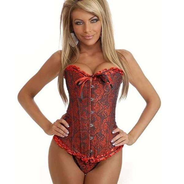 Corset Sexy pour femmes, cintré à la taille, modelé, collection à lacets