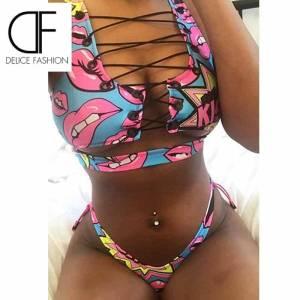 Bikini africain Sexy Push Up