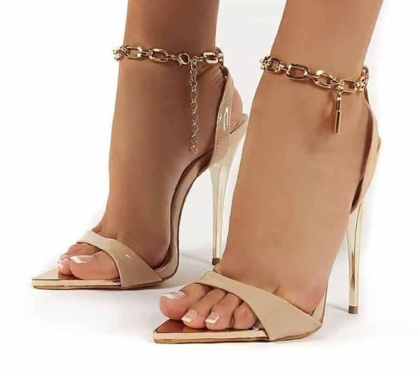 Chaussures à talons hauts fins