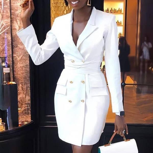Mini costume professionnel élégant pour femmes 4