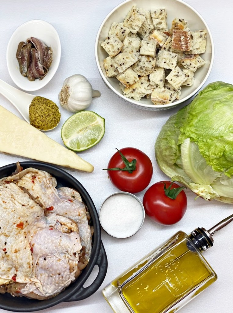 Caesar salad ingredients