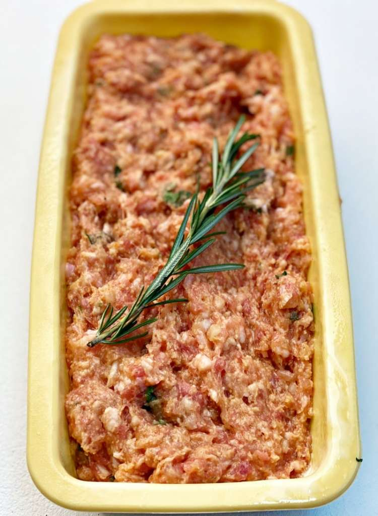 Meat loaf raw