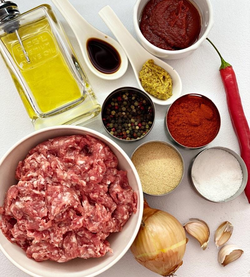 Sloppy joes ingredients
