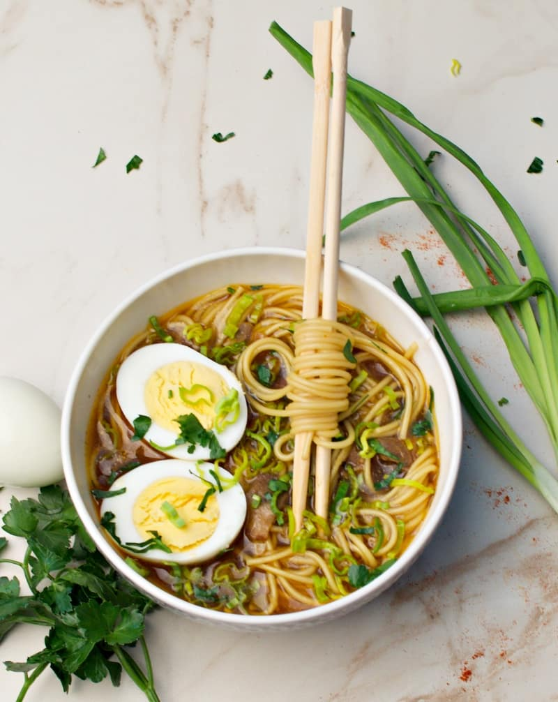 easy recipe ramen soup