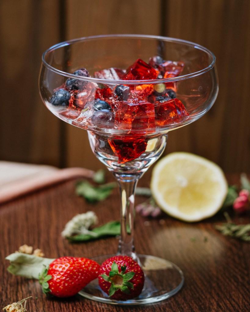 Homemade Fruity Jell-O