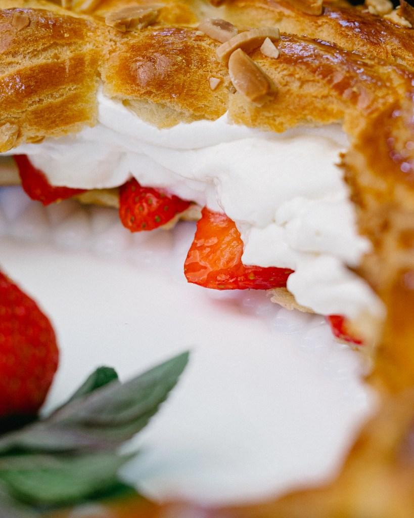 Paris Brest Choux Pastry