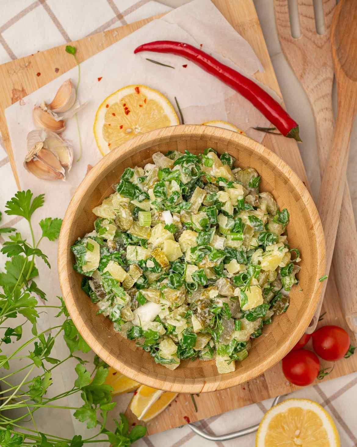 potatoe pickels salad