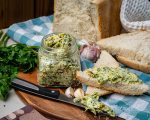 Homemade Garlic Butter with Fresh Herbs