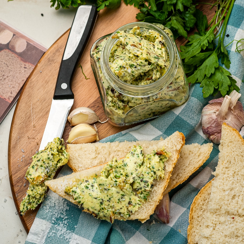 garlic butter with herbs recipe