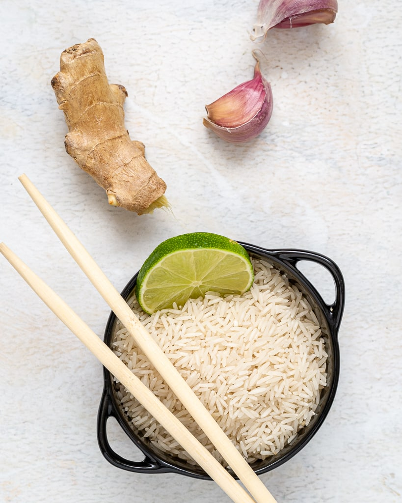 Instant Pot Basmati Rice ingredients