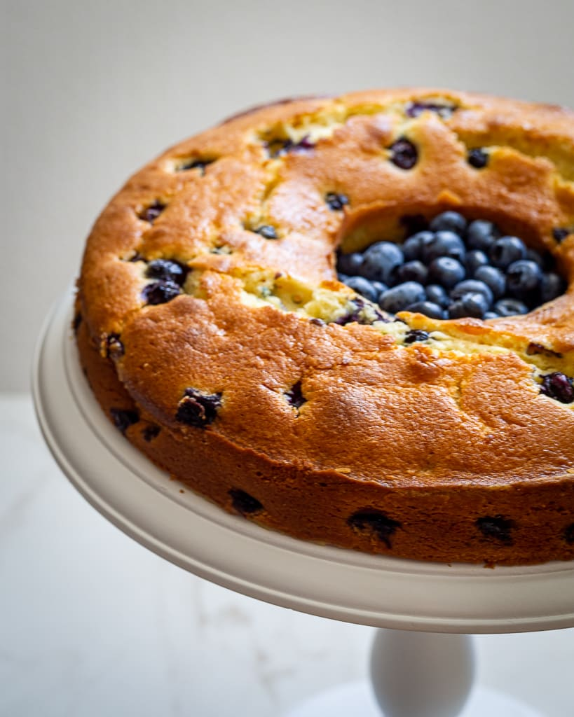 Flawless Blueberry Breakfast Cake