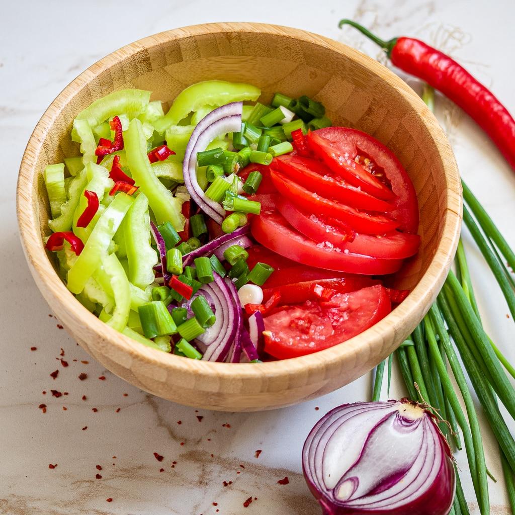 recipe tomato country salad