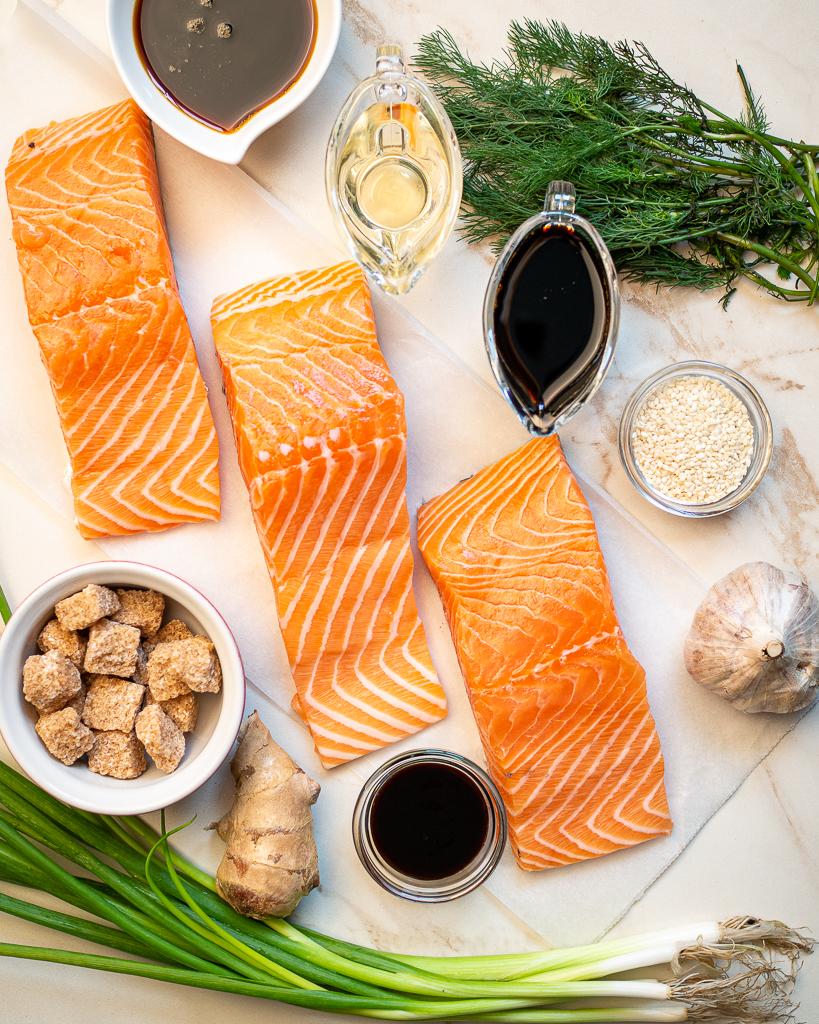 teriyaki salmon recipe ingredients