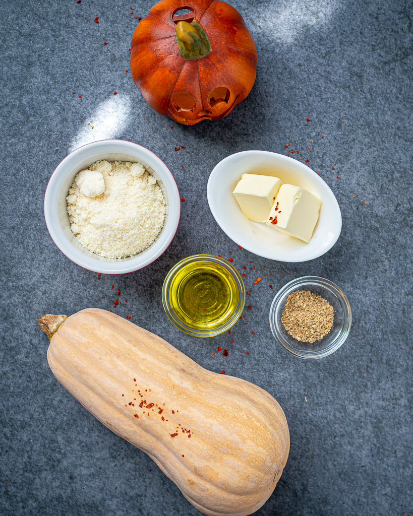 Mashed Butternut Squash Ingredients