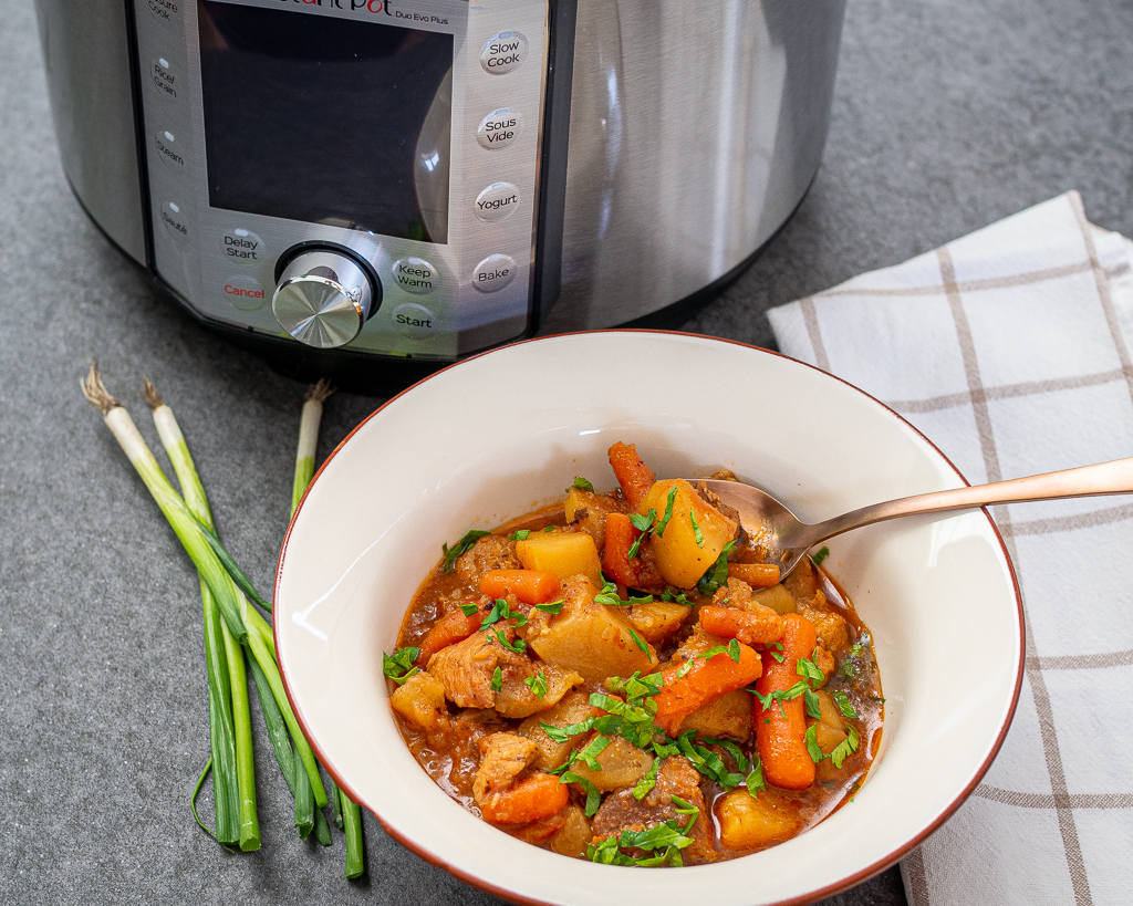 Instant pot pork stew