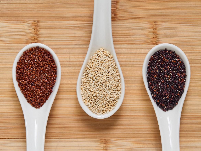 types of quinoa seeds