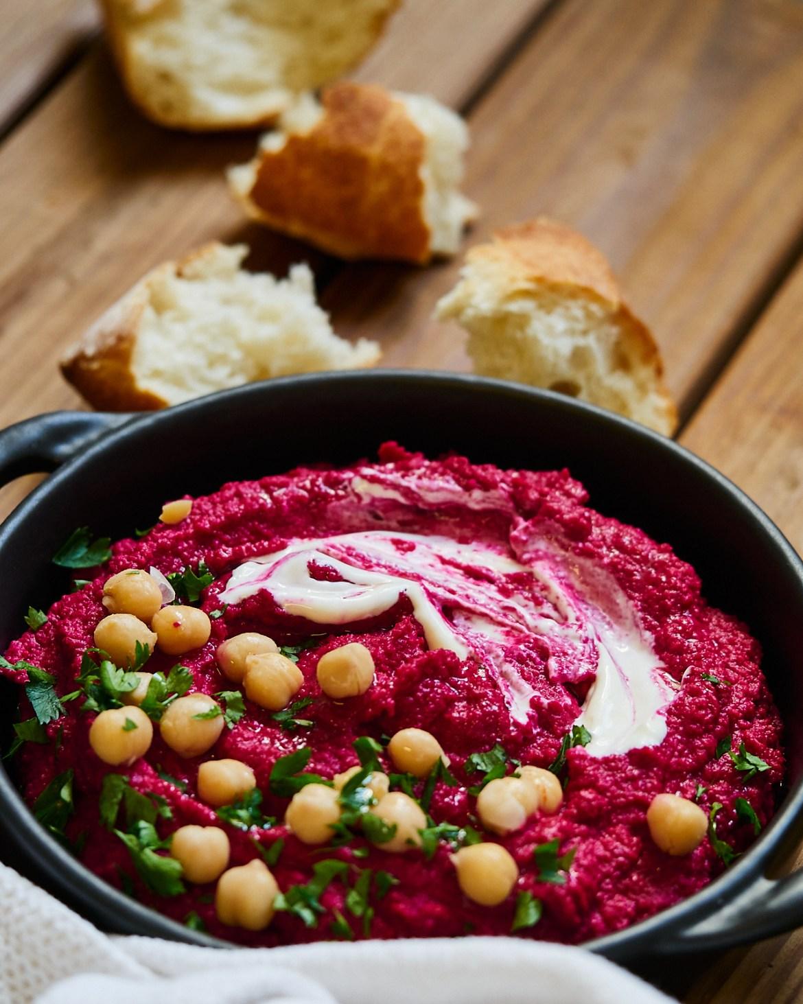 beetroot hummus recipe