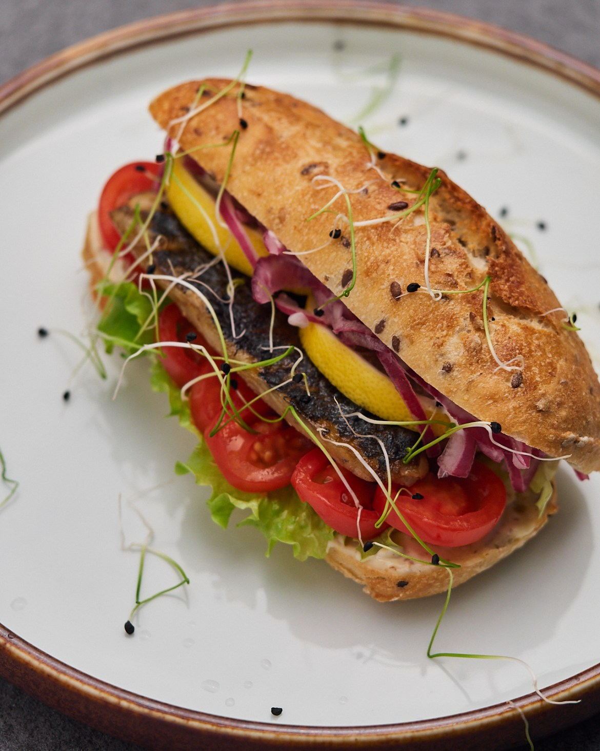 Spring Fish Sandwich