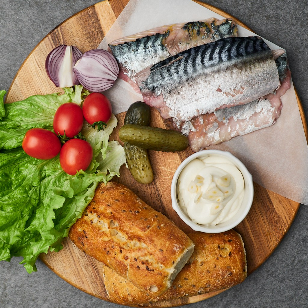 Ultimate Fish Sandwich with Herring Ingredients