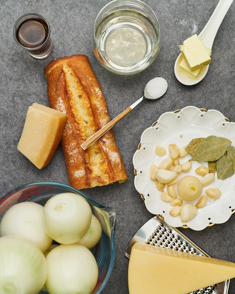 Instant Pot French Onion Soup Ingredients