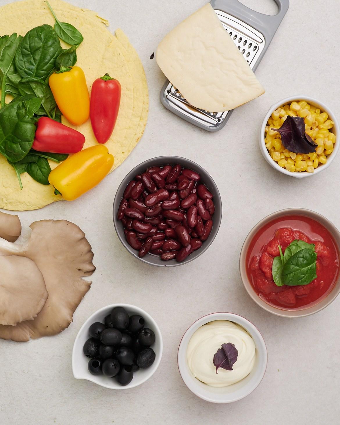 ingredients vegetable casserole