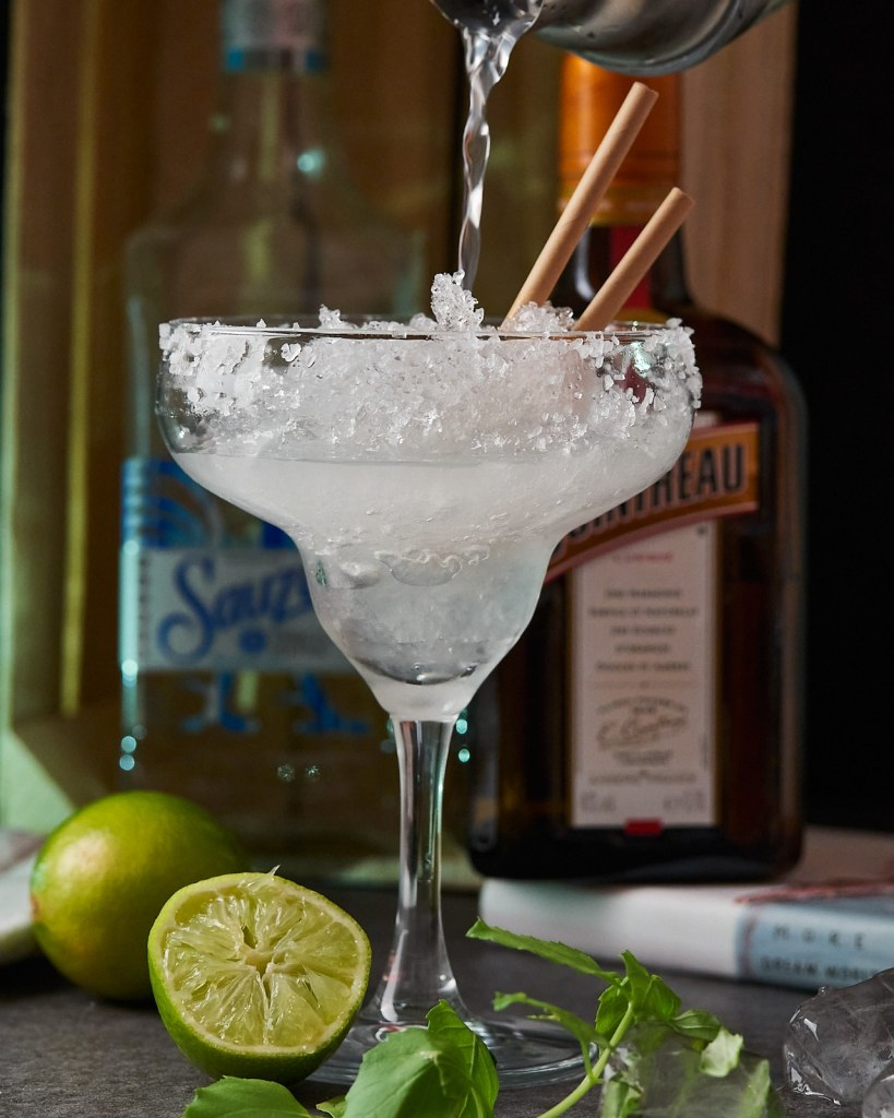 Classic Frozen Margarita Cocktail Recipe