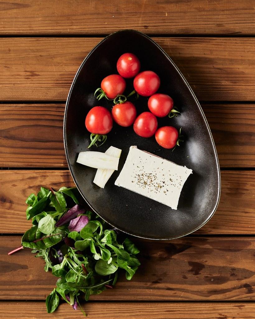 Easy Feta Cheese Salad Ingredients