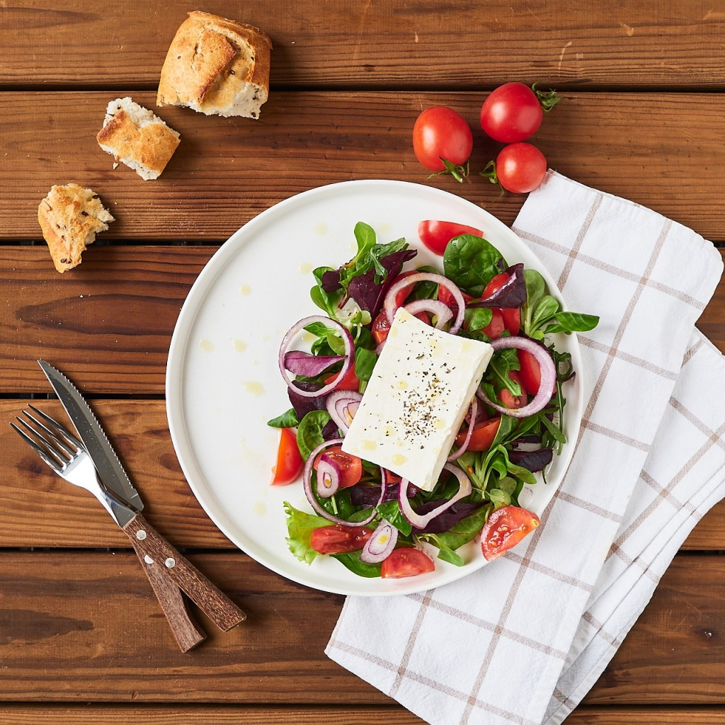 Easy Feta Cheese Salad