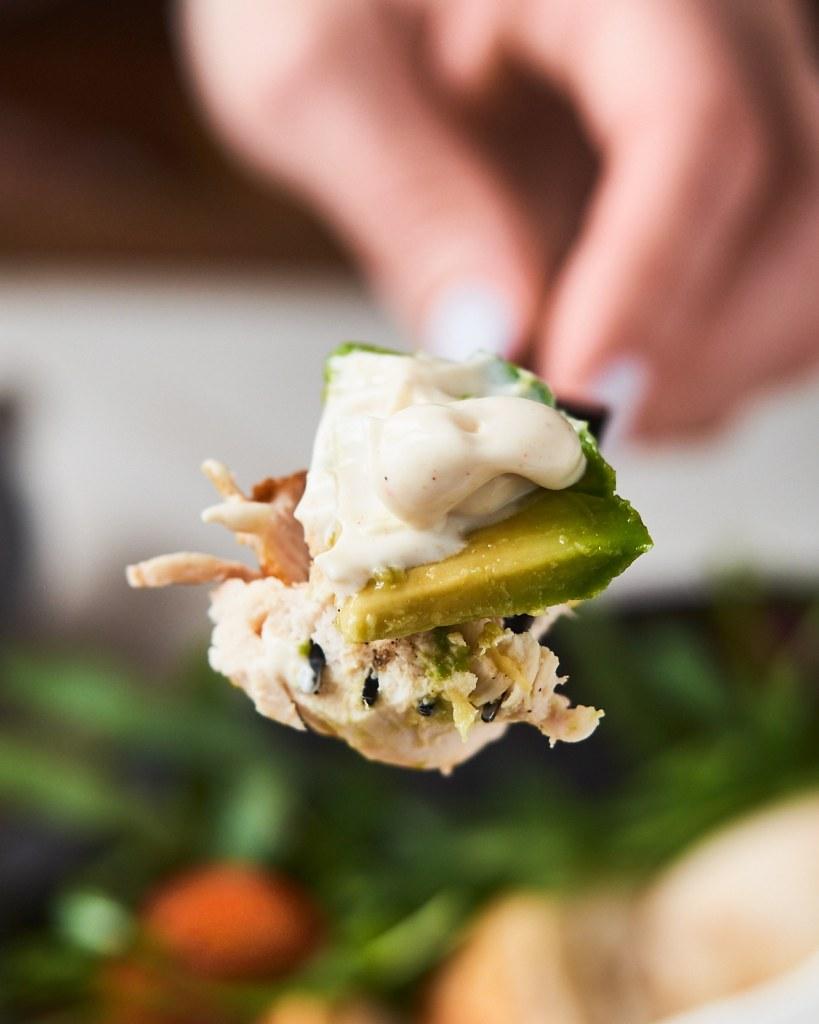 Healthy and Easy Keto Chicken Salad
