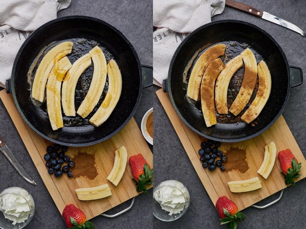 Sweet and Healthy Banana Split