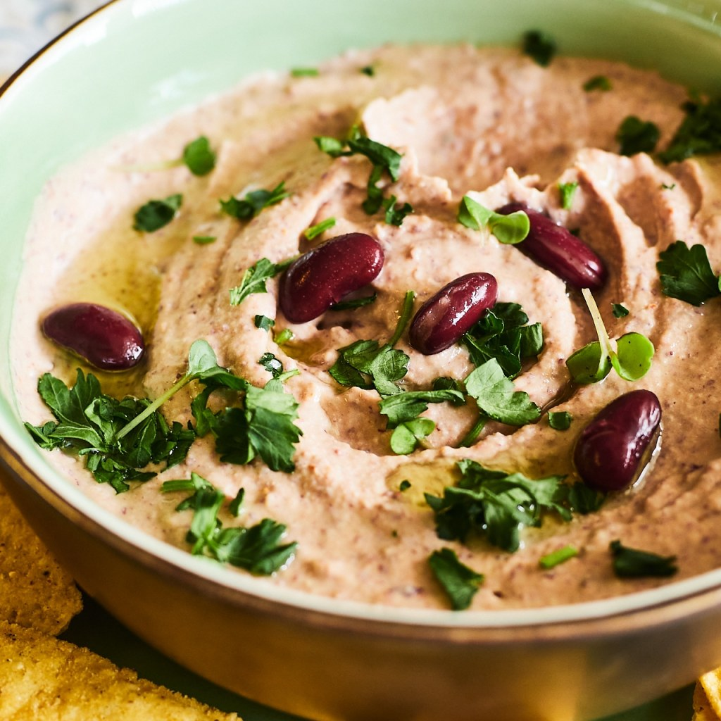 Creamy Black Blean Hummus