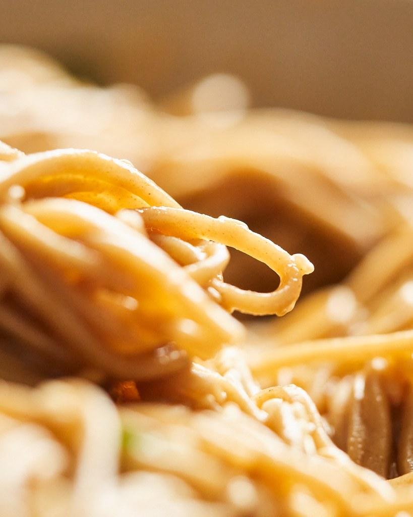 Simple Sesame Soba Noodles