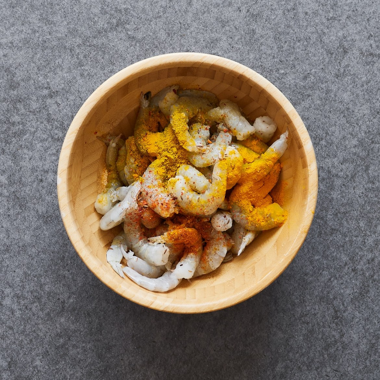 marinated shrimps