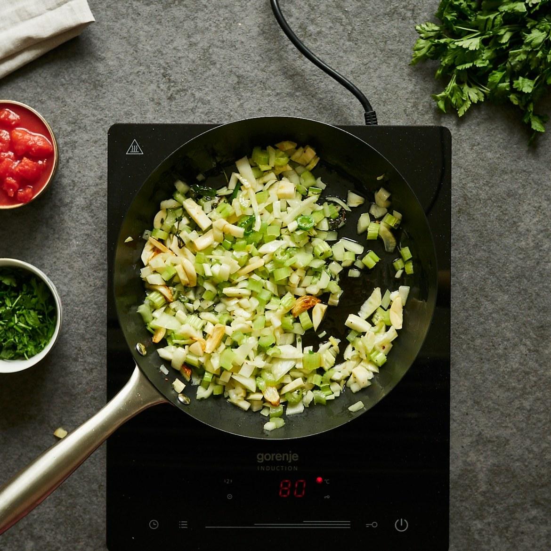 how to sautee veggies