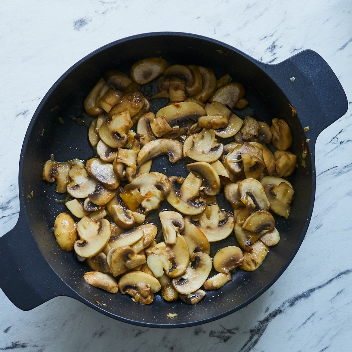 how to sautee mushrooms