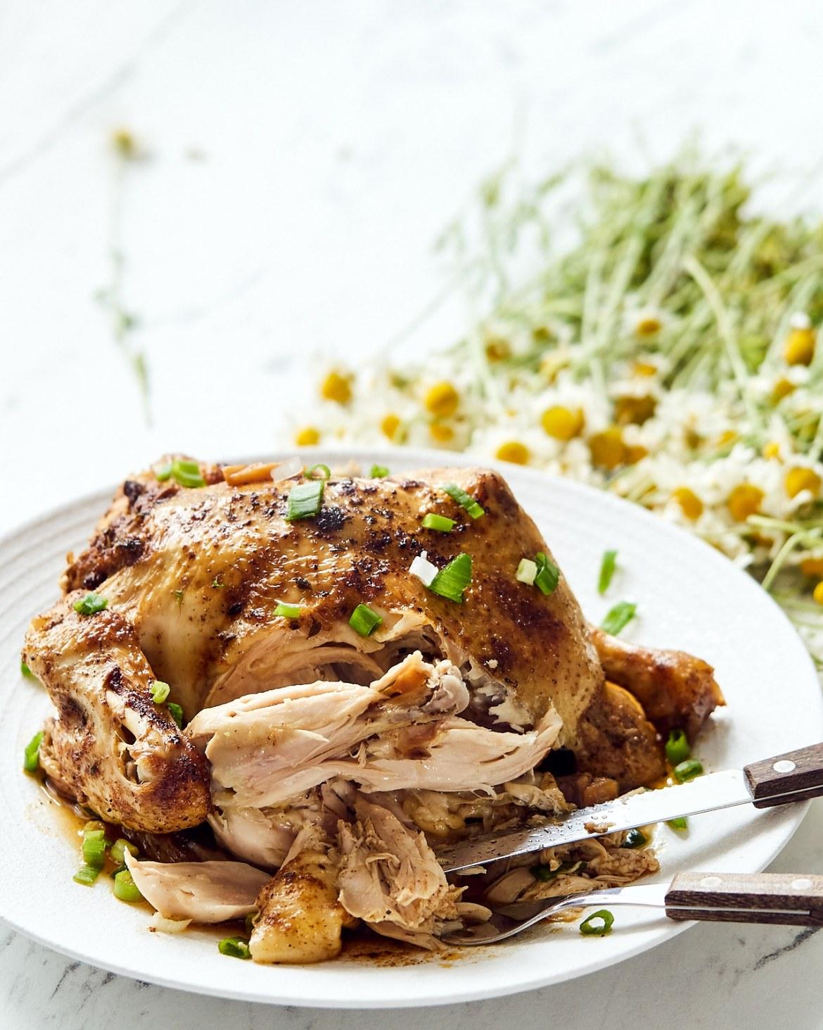 recipe whole chicken instant pot