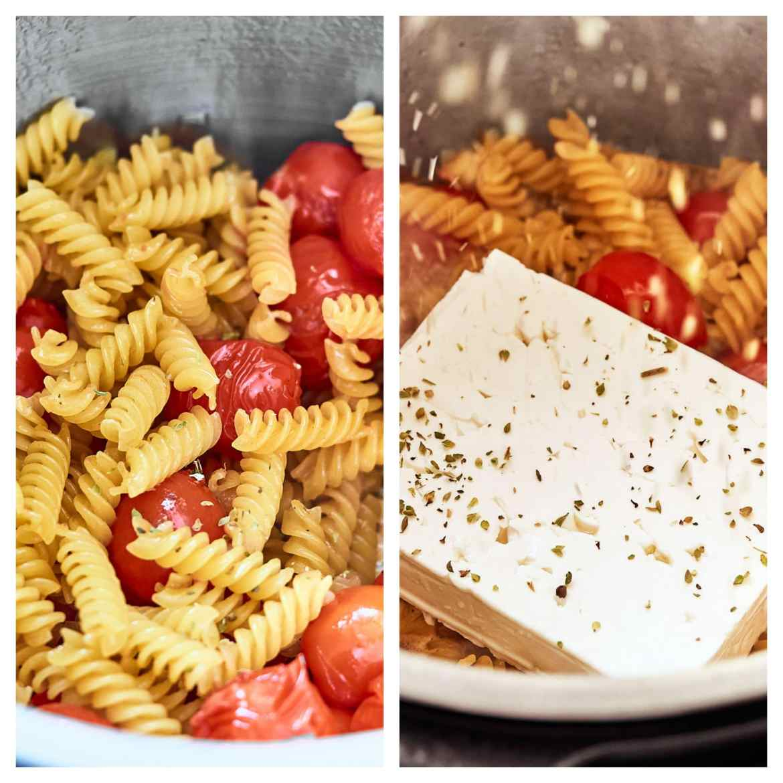 how to cook feta pasta