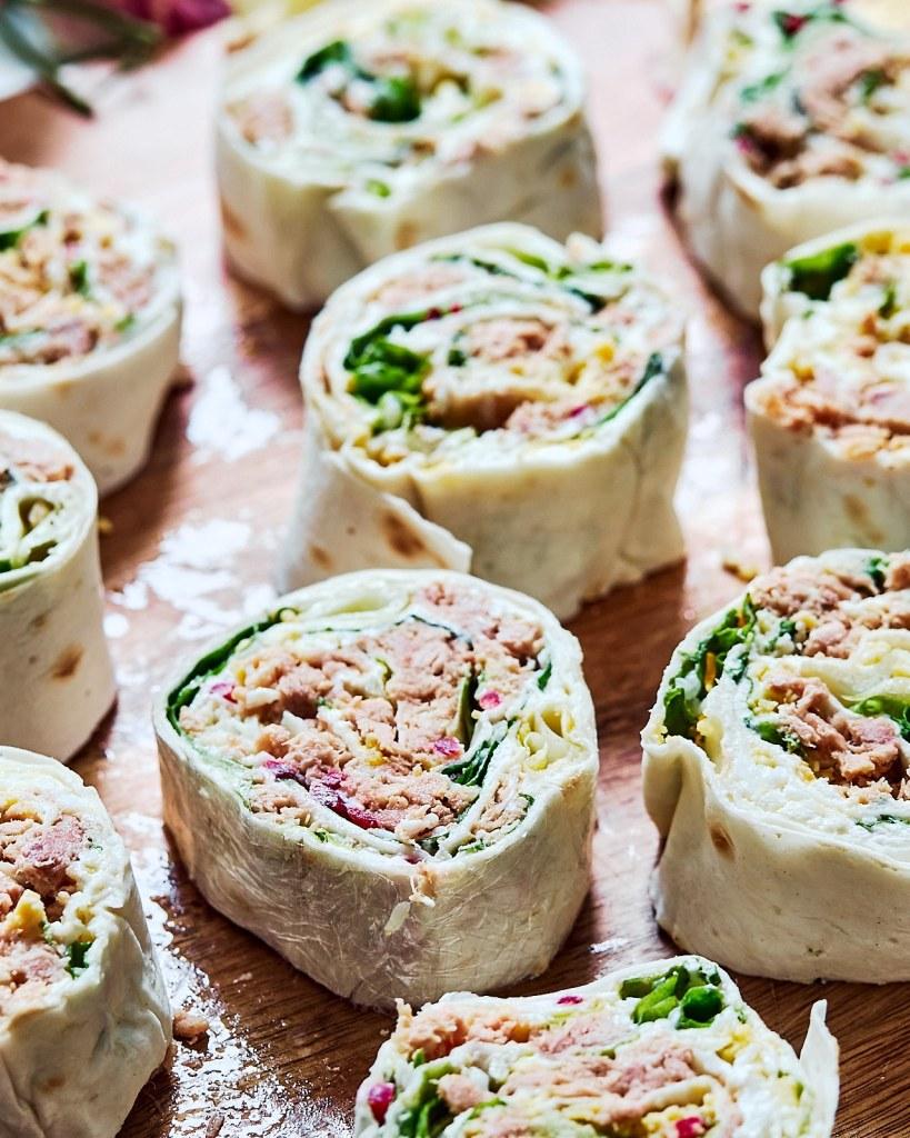 Tuna Egg Rolls