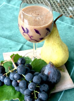 Smoothie - Poire Raisins Figues - copie
