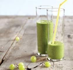 Smoothie vert - Raisins