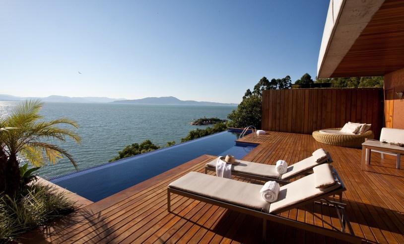 5 resorts no Brasil perfeitos para casais: Ponta dos Ganchos, em Governador Celso Ramos, Santa Catarina