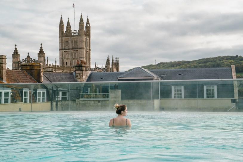 O que fazer em Bath, na Inglaterra: spa com águas termais